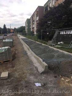 Úprava ulice Mladská