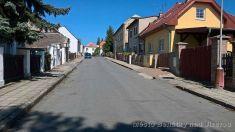 Úprava ulice Jiráskova 2017