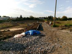 Technická infrastruktura pro 23 RD v lokalitě Nad Stadionem Obodř - 2017