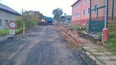 Rekonstrukce ulice U Silvie 2015