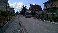 Rekonstrukce ulice Dr. Nováka 2015