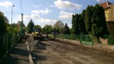 Rekonstrukce ulice Fr. Adámka 2015