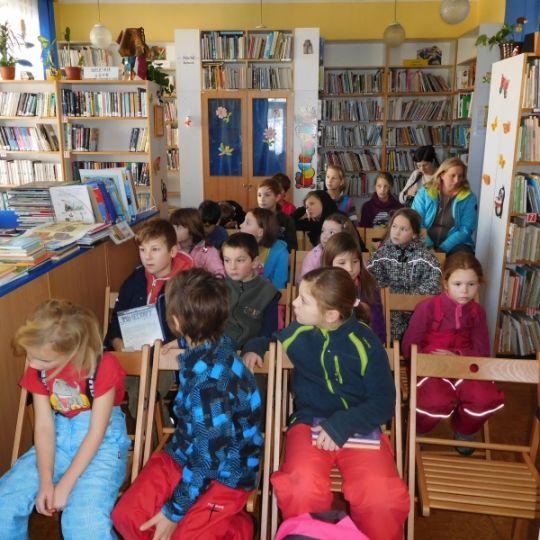 Seznmen s knihovnou 1.C Z Prask - Msto Bentky nad