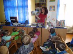 Seznámení s knihovnou 1.B ZŠ Pražská
