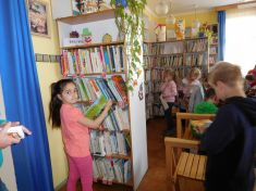 Seznámení s knihovnou ZŠ Husovo náměstí