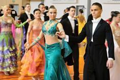 Benátecký pohár, soutěž společenských tanců, 13. 3. 2010