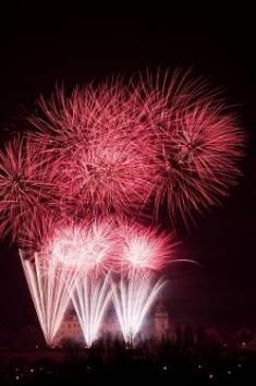 Novoroční ohňostroj, 1. 1. 2009