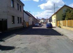 Úprava ulice Červíčkova 2014