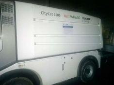 Čistící vůz - technické služby města 2013