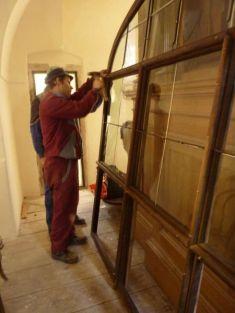 Obnova interiéru kostela Narození Panny Marie