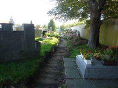 Oprava cest na hřbitově v Benátkách n. Jiz. II - I