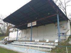Rekonstrukce tribuny na fotbalovém stadionu 2013-2
