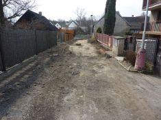 Oprava ulice kordinů 2013