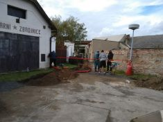 Rekonstrukce veřejného osvětlení ve Kbele