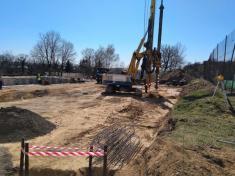 Přístavba zázemí a stavební úpravy v areálu koupaliště a zimního stadionu – I. etapa