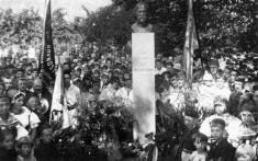 Slavnostní odkrytí pomníku T.G.Masaryka 12.srpna 1928