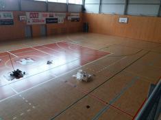 Renovace povrchu Nibe arena