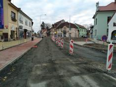 Rekonstrukce komunikace Tuřice-Kbel, I.etapa Kbel - Burza (2020)