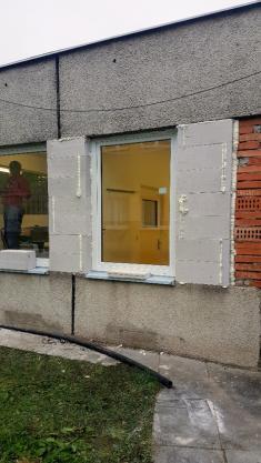 Výměna oken a dveří v Městské prádelně