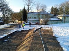 Výstavba oplocení areálu a vybudování odstavných ploch u Letního stadionu
