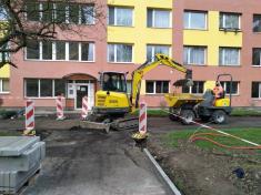 Revitalizace vnitrobloků sídliště Na Burze III.etapa