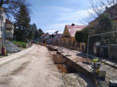 Úprava ulice Tyršova