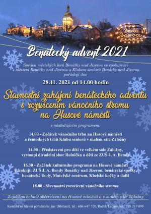 Zahájení Benáteckého Adventu s rozsvícením vánočního stromu 6