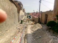 Revoluční ulice rekonstrukce