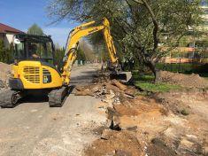Rekonstrukce ulice Platanová